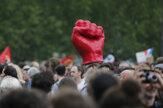 Desaťtisíce Francúzov protestovali proti Macronovým reformám