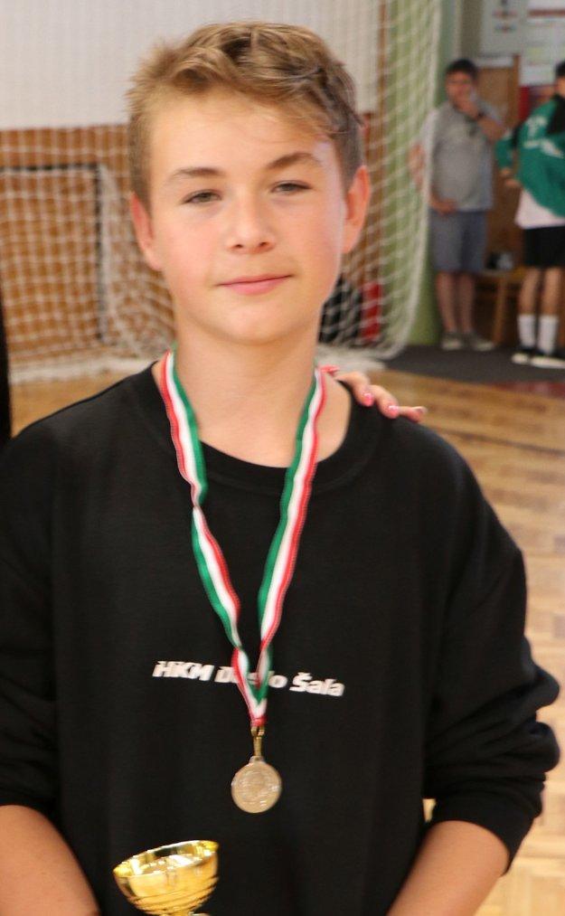 Najlepší strelec turnaja Ronald Mojzes