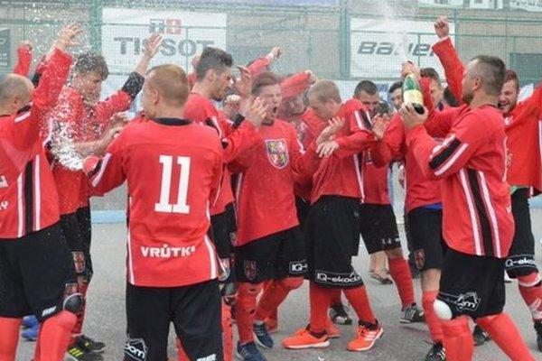 Vrútočania získali prvý extraligový titul v histórii klubu