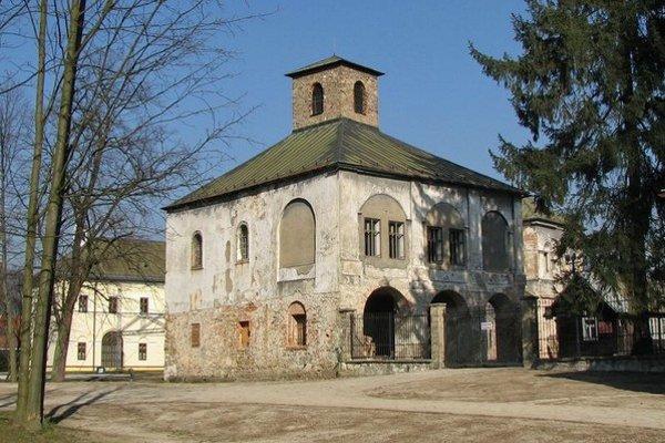 Kaplnka na Budatínskom hrade.