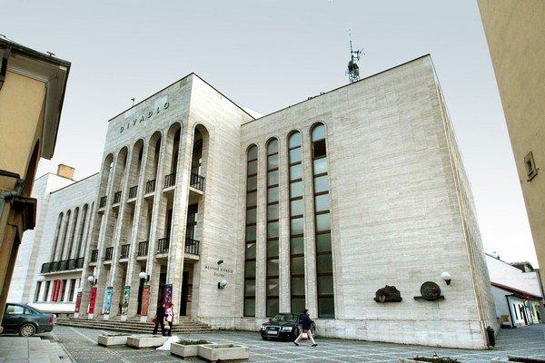 Mestské divadlo v Žiline.