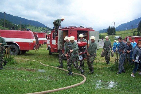 Dobrovoľný hasičský zbor.