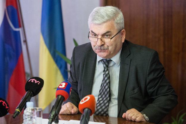 Veľvyslanec Ukrajiny na Slovensku Juri Muška.