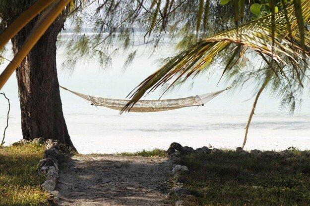 Pláž, Zanzibar.