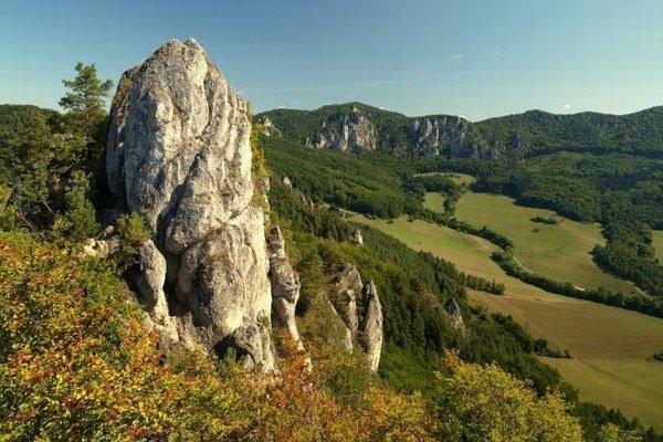 Súľovské skaly - miesto, kde sa takmer odohrala tragédia.