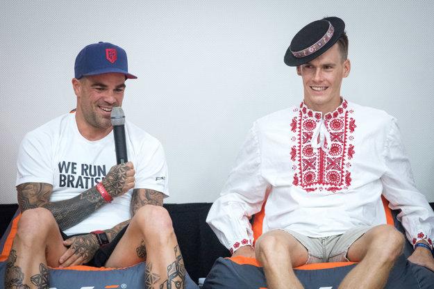 V Šamoríne bude štartovať aj bývalý futbalový reprezentant Filip Šebo (vľavo).
