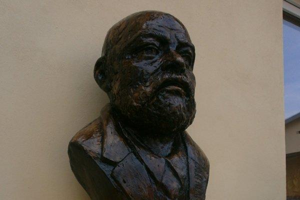 Ivan Benko. Jeho busta.