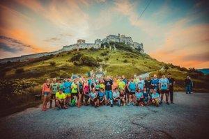 Účastníci behu