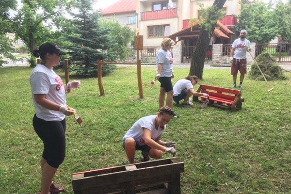 Na Karlove sa pracovalo od rána, dobrovoľníkom išla práca od ruky.