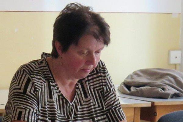 Oľga Štrbáková.