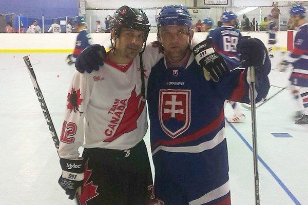 Róbert Kašša (vpravo) s kamarátom Paolom Mustom.