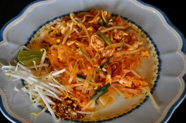 Pad Thai je thajské jedlo číslo 1