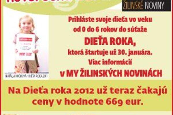 Populárna súťaž MY Žilinských novín vstupuje už do siedmeho ročníka. Prihláste svoje dieťa a vyhrajte hodnotné ceny.