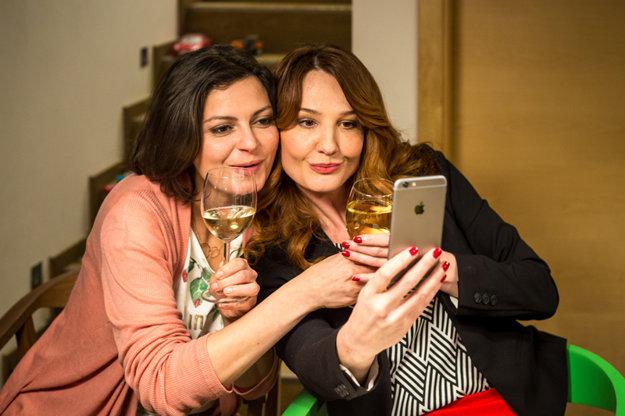 Andrea Karnasová a Lujza Garajová Schameková sa poznali dávno predtým, než sa zišli v seriáli Naši.