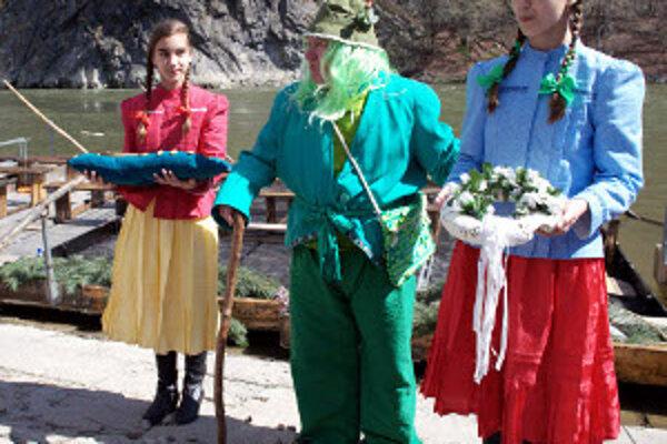 Vodník Jurko so svojími vílami odomkli Váh.