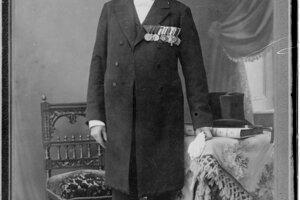 Anton Szmolen na dôchodku.
