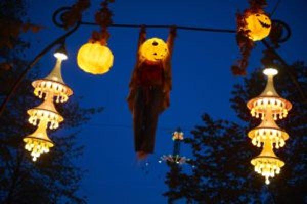 Halloween začína byť populárny aj u nás.