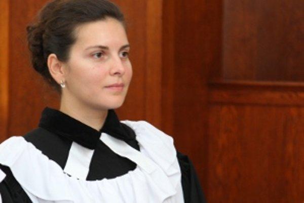 Farárka Oľga Kaňuchová