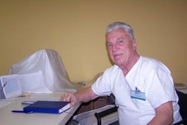 Lekár Alexej Pedan.