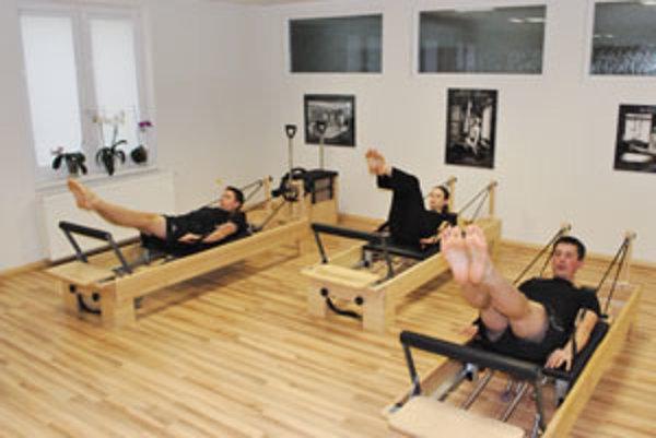 V Žiline precvičujú pilates už tri roky.