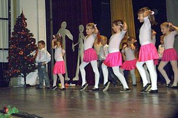 Deti ukázali, aké sú šikovné. Aplauz od obecenstva si zaslúžili.