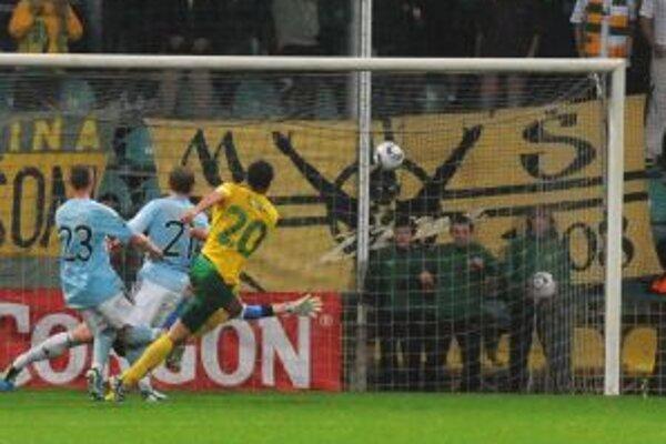 Šulekov víťazný gól.