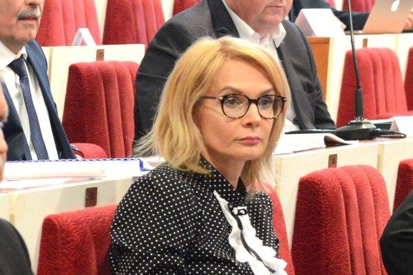 Viceprimátorka a krajská poslankyňa Renáta Lenártová (Smer).