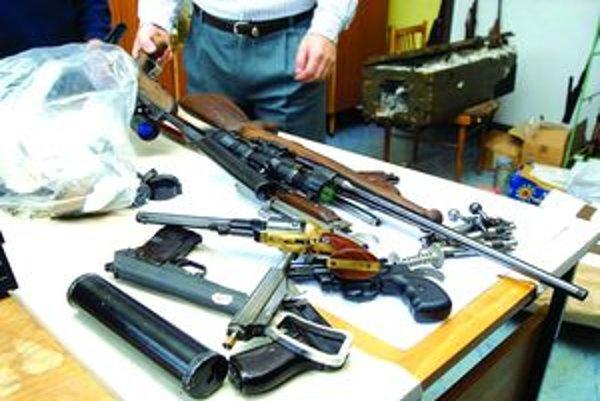Nelegálne držané zbrane