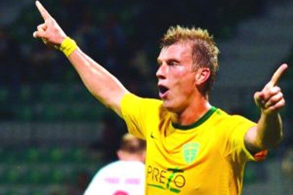 Po hetriku v Slovenskom pohári sa na ihrisku Ružomberka Tomáš Majtán gólovo odmlčal. So spoluhráčmi však oslavoval zaslúžené víťazstvo.
