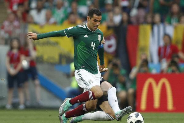 Rafael Márquez je rekordérom na majstrovstvách sveta.