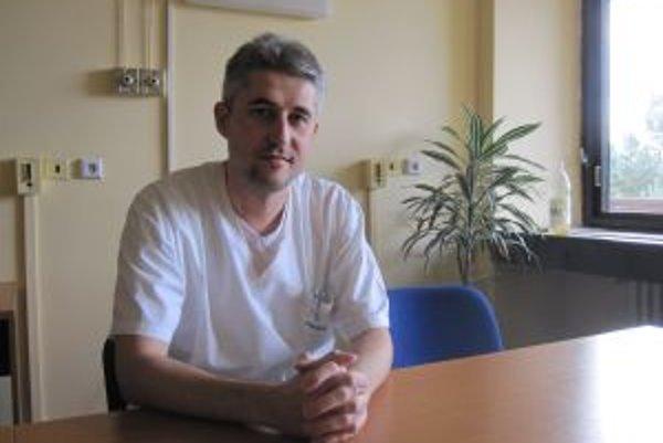 Šéf žilinských odborárov Peter Blaško.