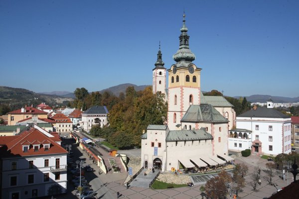 Impozantný komplex Mestského  hradu je pýchou mesta.