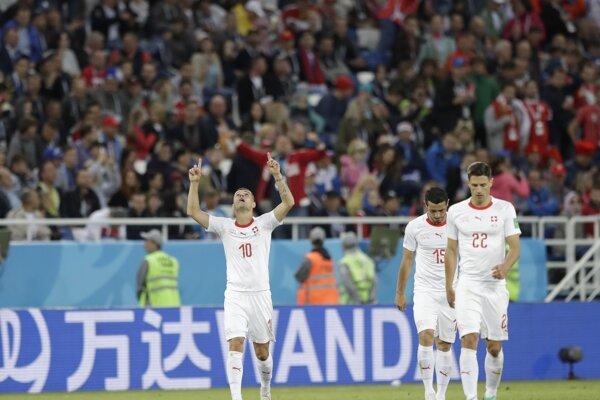 Švajčiarsko zdolalo Srbsko.