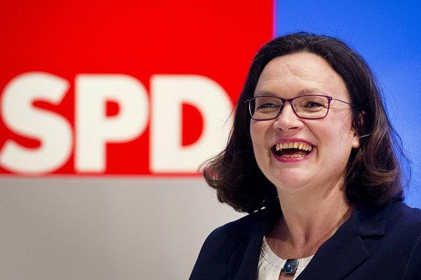 Seehofer je hrozbou pre Európu, uviedla šéfka nemeckých socialistov
