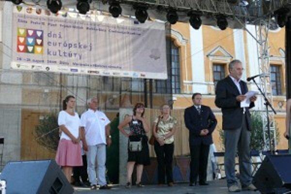 Otvorenie festivalu Dní európskej kultúry.