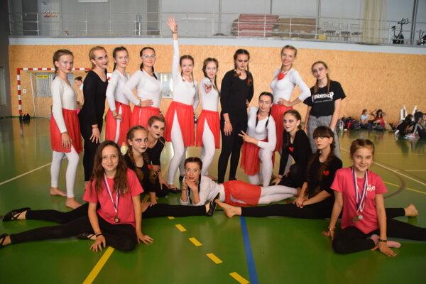 Tanečníčky z JOJE si vytancovali postup na európsku súťaž.