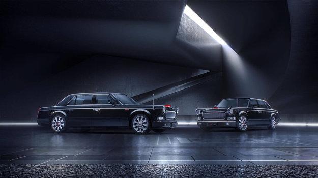 Generálny tajomník ostáva verný domácej produkcii - jeho limuzína Hongqi L5 je najdrahšie auto vyrobené v Číne.
