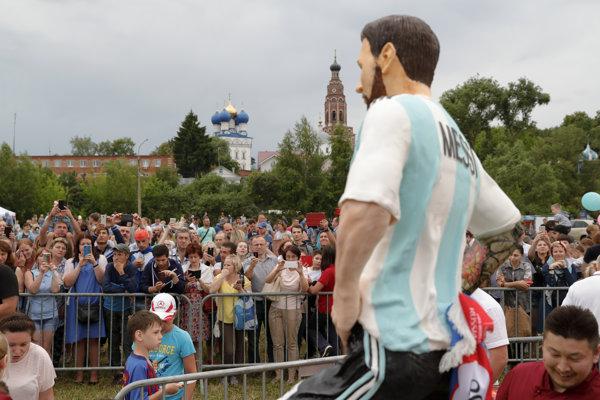 Lionel Messi na oslave chýbal.