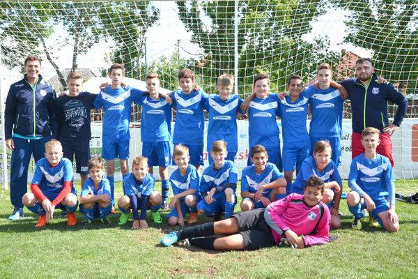 Domáci futbalisti ŠK Čajkov sa stali víťazmi Turnaja mládežníckych mužstiev.
