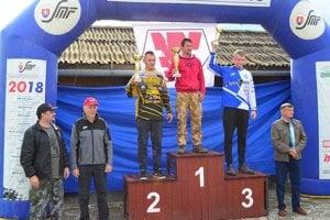 Martin Kajánek, víťaz kategórie E1.