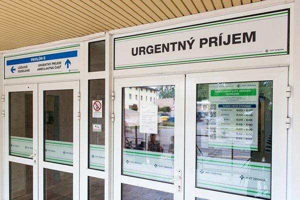 V humenskej nemocnici otvorili nový urgentný príjem.
