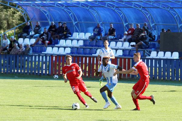 Nigérijčan Abdulrahman Taiwo strelil v sobotu dva góly do siete Brna. V príprave celkovo už päť za tri zápasy.