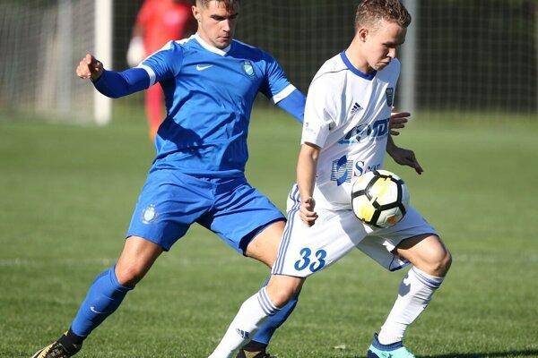 Najnovšou tvárou v MFK Zemplín je Rus Nikita Andrejev (vpravo).