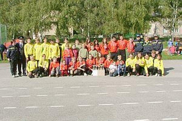 Mladí hasiči prišli z rôznych kútov Slovenska.