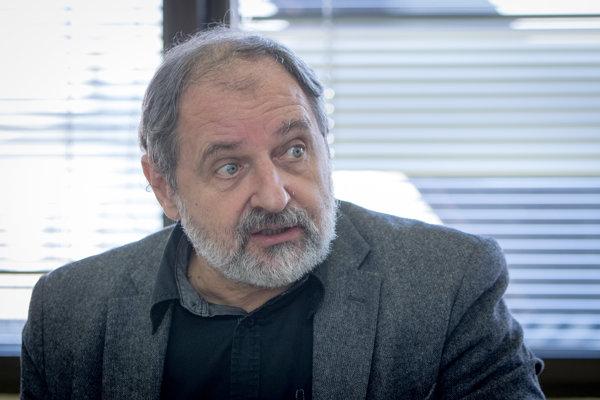 Podpredseda Rady Rozhlasu a televízie Slovenska (RTVS) Martin Kákoš.