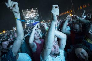 Štvrtkový večer patril Chemical Brothers.
