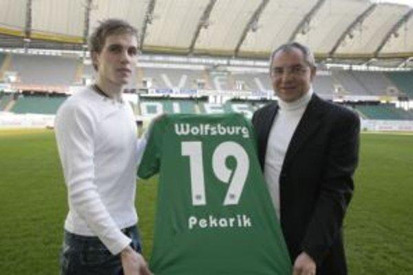 Peter Pekarík v novom drese bundesligového Wolfsburgu.