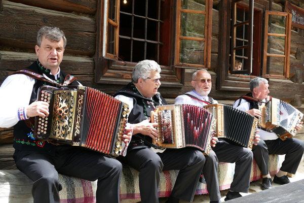 Na podujatí Turčianska harmonika.