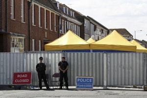Vyšetrovanie vraždy Dawn Sturgessovej novičokom v Salisbury si vyžiadalo zatvorenie ulíc.