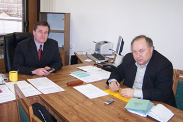 Ján Barienčík (vľavo) a Miroslav Kobrtek.